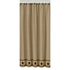 Check out the deal on Primitive Star Shower Curtain at Primitive Home Decors