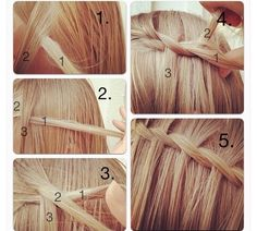 waterfall braid!
