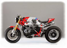 "RocketGarage Cafe Racer: BMW NINE-T "" Marlboro Cafè"""
