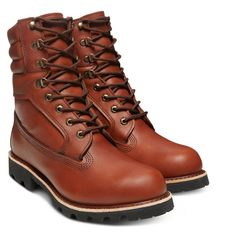 timeless design afa53 1bff4 American Craft 8-Inch Boot for Men in Brown Американские Поделки,  Timberland, Походные