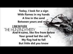 A line in the sand - Linkin Park lyrics