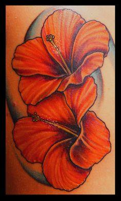 Flor de maga on pinterest hibiscus tattoo hibiscus for Hibiscus flower tattoo shoulder blade