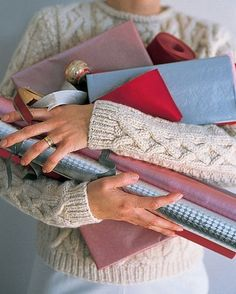 """See the """"Strategize Gift-Wrapping"""" in our Tips for a Stress-Free Holiday Season gallery"""