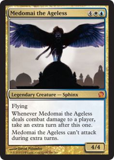 Medomai-the-Ageless-x4-Magic-the-Gathering-4x-Theros-mtg-mythic-rare-card-lot