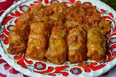 Lájk, ha Te is szereted Hungarian Recipes, Cabbage Rolls, Pork Recipes, Tandoori Chicken, Chicken Wings, Sausage, Bacon, Food And Drink, Tasty