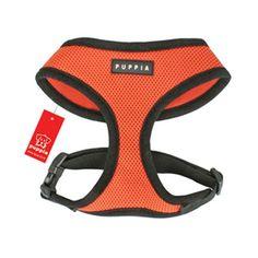 Soft Collar Harness — Orange