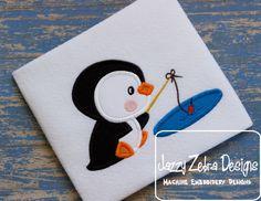 Penguin 9 Applique