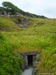 Entrance to Doolin Cave Co. Clare Ireland