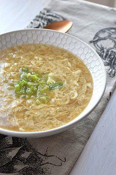Egg Drop Soup - A Stray Kitchen