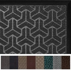 Gorilla Grip Original Durable Rubber Door Mat ** You can get more details by clicking on the image.-It is an affiliate link to Amazon. Rubber Door Mat, Rubber Flooring, Profile Design, Welcome Mats, Quatrefoil, Floor Mats, Indoor, Doormat, The Originals