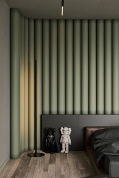 Small Apartment Interior, Apartment Design, Interior Concept, Interior Design, Bed Design, House Design, Master Bedroom, Bedroom Decor, Architect House