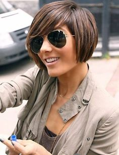 Types of Bob Cut Hairstyles (21)