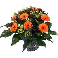 Orange autumn bouquet  From: € 13.95