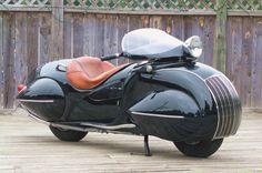 1930 Henderson Streamline #motorcycle #future #retro #design #style