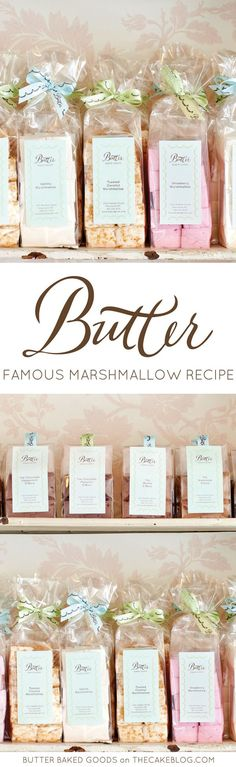 Learn how to make these famously gourmet marshmallows from Butter Baked Goods. A recipe perfect for holiday baking. From the new book Butter Baked Goods by Rosie Daykin.