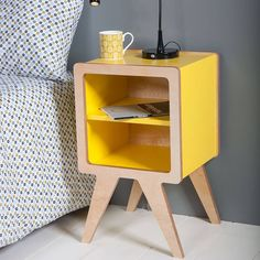Space Bedside Table http://www.notonthehighstreet.com/obifurniture/product/space-bedside-table