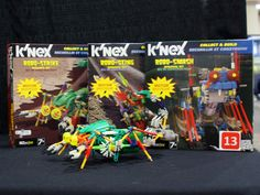 KNex fans will have a blast building their new line of insect-inspired robots ($17.99, ages 7+)! #robotictoys #toyfair #knex