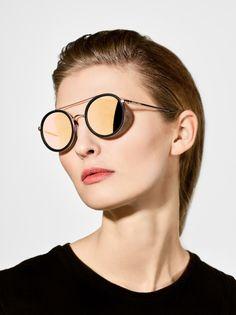 Berlin and Vienna based photographer Arthur Pohlit Round Sunglasses, Sunglasses Women, Fashion, Moda, Round Frame Sunglasses, Fasion, Fashion Illustrations, Fashion Models
