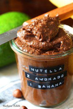 nutella z awokado Healthy Deserts, Healthy Sweets, Healthy Snacks, Healthy Recipes, Nutella, Helathy Food, Wonderful Recipe, Foods With Gluten, Food Inspiration