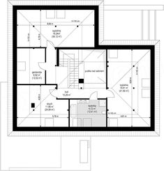 Projekt domu Hiacynt 210,18 m2 - koszt budowy - EXTRADOM House Plans, Floor Plans, Modern, Style, Houses, Architecture, Work Desk, Swag, Trendy Tree