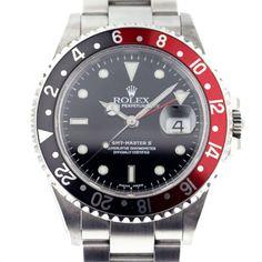 Great Groom Gift Ideas: Rolex GMT Master II 16710 Red/Black (Coke) Bezel Men's Watch