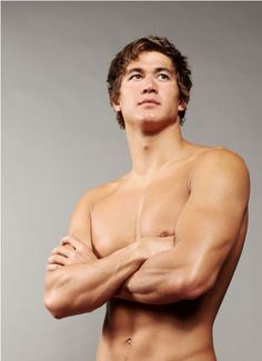nathan adrian.... mhmmmm.... Who ever interviews swimmers for the Olympics better watch out... Im out for their job.