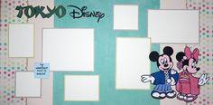 "12""x12"" layout kit:  Tokyo Disney"