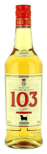 103 White Label Solera | Spanish Brandy & Cognac