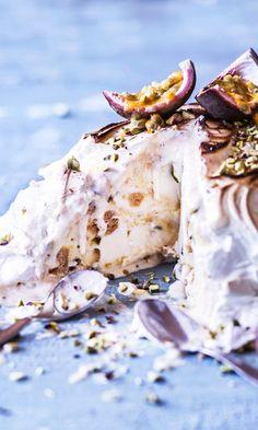 Baked Alaska, Mango, Baking, Manga, Bakken, Backen, Sweets, Pastries, Roast