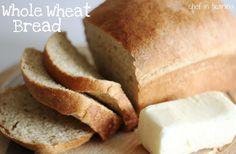 Whole Wheat Bread!... A great family recipe!