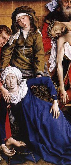 Rogier Van Der Weyden, Deposizione, 1453, Museo del Prado, Madrid