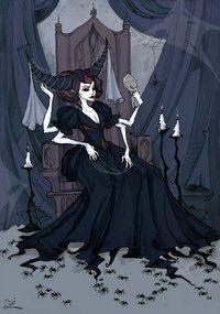 Spider Queen Art Print by Iren Horrors - X-Small Character Art, Character Design, Spider Art, Giant Spider, Spider Queen, Gothic Wallpaper, Queen Art, Witch Art, Classic Monsters