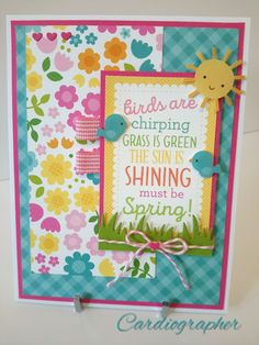 Must be spring - Scrapbook.com