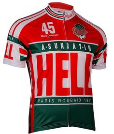 Retro Image Cycling Jersey -  Sunday In Hell