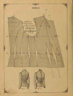 What We Did When The Power Went Out (Sewing In Walden): Dress Bodice (1890)