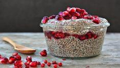 2 cucharadas de chía - 1 taza de leche vegetal (almendras, alpiste, sésamo, semillas de zapallo, semillas de maravilla, etc.) - Mi...
