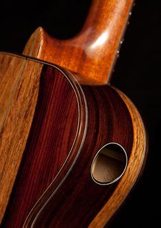 Granadillo Tenor Ukulele, current projects at Lichty Guitars