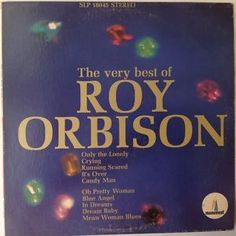THE VERY BEST OF ROY ORBISON ORIGINAL 1966 MONUMENT SLP 18045 Vinyl Record