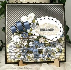 Welcome to Anna Marie Designs the home of Craft and Arts supplies, Hobby Craft, Card Craft, browse our shop for craft ideas and creations. Anniversary Crafts, Pretty Cards, Masculine Cards, Crafty Projects, Creative Crafts, Hobbies And Crafts, Design Crafts, Handmade Christmas, Cardmaking