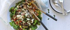 This salad is packed full of quinoa and chickpeas, as well as other Mediterranean flavours. Paired to perfection with Eta's Caramelised Onion Dressing. This is a must try this summer!