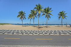 Rio de Janeiro, Ipanema. Palmen in Brasilien. Foto: Felix Richter Medium Art, Beach, Water, Outdoor, Rio De Janeiro, Pictures, Brazil, Social Media, Gripe Water