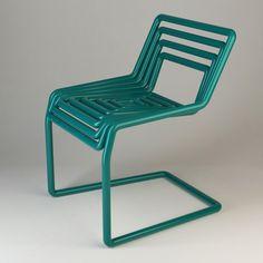tube chair by oleksandr shestakovych, via Behance