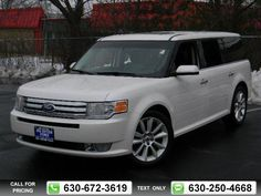 2011 Ford Flex SEL w/Ecoboost 64k miles $22,387 64197 miles 630-672-3619 Transmission: Automatic  #Ford #Flex #used #cars #JoeCottonFord #CarolStream #IL #tapcars