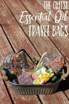 If you're looking for American-made, quality essential oil travel bags, you've found them. They'll protect your oils AND look gorgeous at the same time!