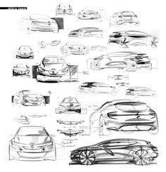Renault Clio V on Behance