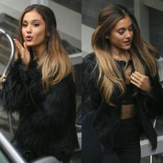 Ideas For Hair Color Ombre Ariana Grande - All For Hair Color Balayage Ariana Grande Hair Color, Cabello Ariana Grande, Ariana Grande Fotos, Ariana Grande Nails, Celebrity Hairstyles, Down Hairstyles, Pretty Hairstyles, Short Hairstyle, Ombre Hair Color
