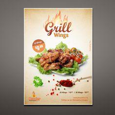 design chicken flyer - Google Search