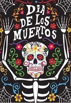 Day Of The Dead Party, Day Of The Dead Skull, Day Of Dead, Mexico Day Of The Dead, Sugar Skull Art, Sugar Skulls, Park Art, Mexican Folk Art, Halloween Art