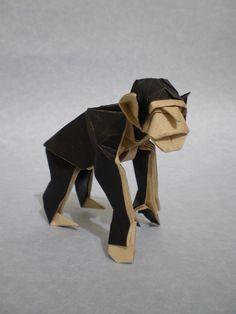 Origami Monkey Face | 314x236