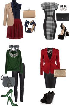 2013 Fall Trends - Formal by thekoreanpanda  Here is a set of formal business outfits that exemplify some of 2013 Fall Fashion Trends.